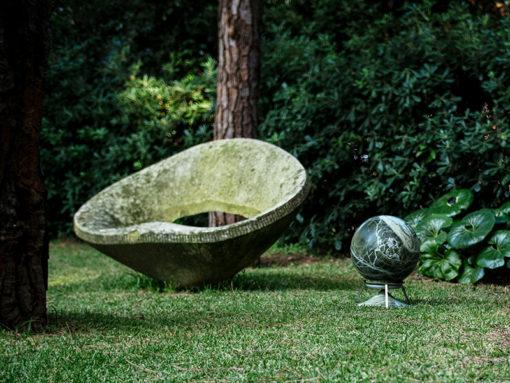Sphere Lautsprecher für die 360 Grad Gartenbeschallung