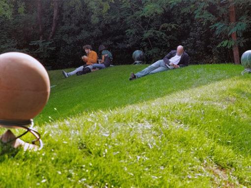 Sphere Lautsprecher für die 360 Grad Parkbeschallung