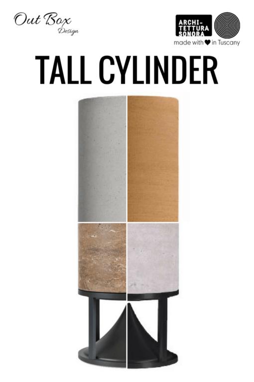 CYLINDER TALL - Außenlautsprecher von Architettura Sonora