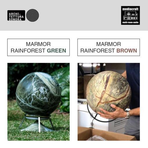 Marmor Rainforest Green und Brown - Bitte beachten!