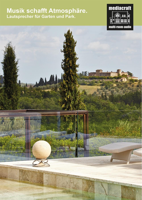 Outdoor Audio - Lautsprecher für den Garten, die Terrasse und den Poolbereich