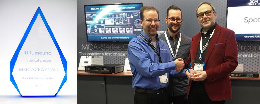 mediacraft AG - Most Valued Partner