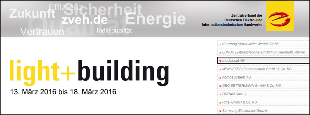 E-Haus auf der Light+Building