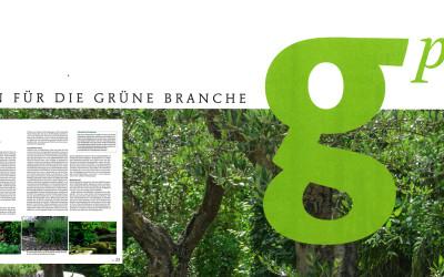 """Das Magazin für die grüne Branche """"g'plus"""" über Gartenlautsprecher von mediacraft"""