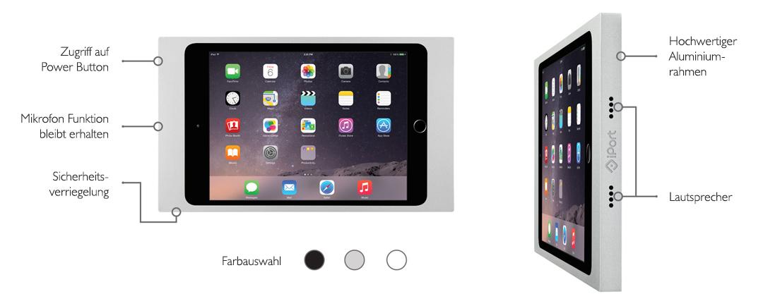 Mehr als nur eine iPad Halterung - Die Vorteile