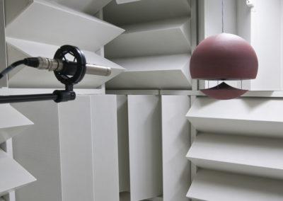 Architettura Sonora - Lautsprechertest im Anechoic room