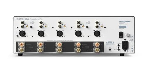 Rückseite - Pantages G4 - Verstärker von Audiocontrol