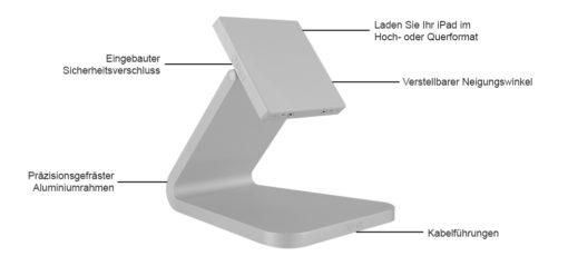 LuxePort BaseStation (Tischstation) - Features