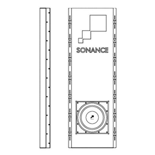 Sonance R10SUB Enclosure - Kinolautsprecher