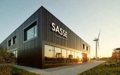 Neues Geschäftsgebäude für Elektro Sasse in Bremerhaven