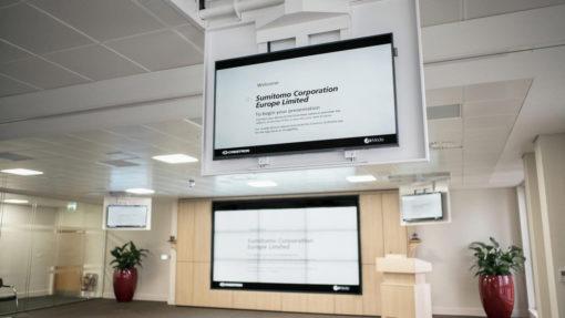 CHRS - Display Deckenklappe mit Drehgelenk