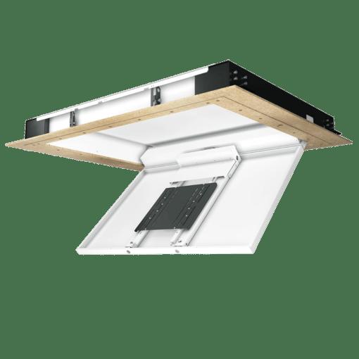 CHRS - Display Deckenklappe mit Drehgelenk, beim öffnen
