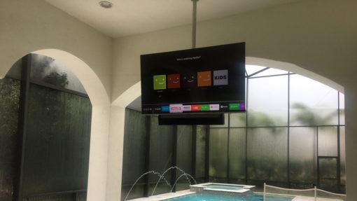 CM - Deckenhalter für Displays