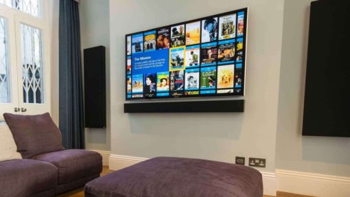 PF65 - Wandhalterung für Displays und TV