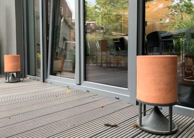 Cylinder Lautsprecher von Architettura Sonora