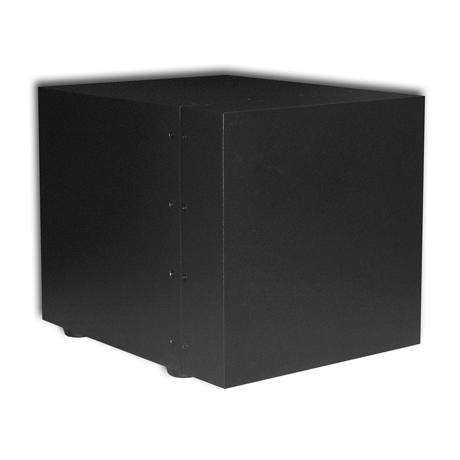 JA EMB 12 BP - Subwoofer von James - Front
