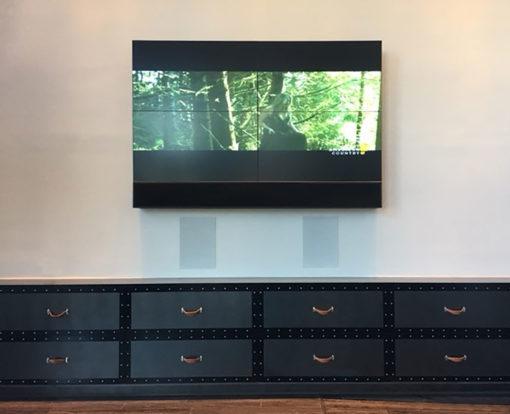 Installationsbeispiel JA QX 320 - Einbaulautsprecher von James
