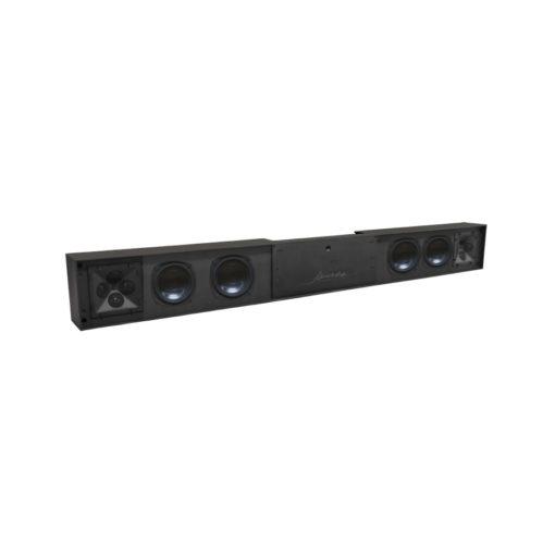JA SPL 4Q L-R-P - Aktive Stereo Soundbar von James