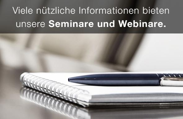 Seminare und Webinare der mediacraft AG