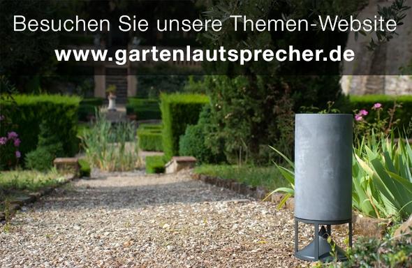 Zur Themen-Website www.gartenlautsprecher.de